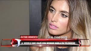 Florencia Cocucci, la modelo que viajó a Cancún con Nisman, habló en  Telenoche - YouTube